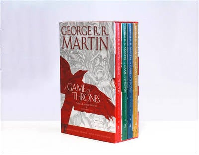 GAME OF THRONES GN BOX SET