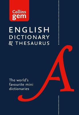 COLLINS GEM: DICTIONARY/THESAURUS 6TH