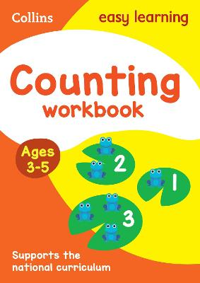 COUNTING WORKBOOK AGES 3-5: AGE 3-5