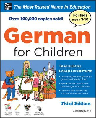 GERMAN FOR CHILDREN WITH TWO AUDIO CDS