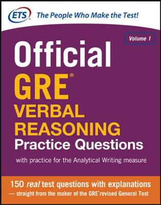 OFFICIAL GRE VERBAL REASONING PRACTICE Q