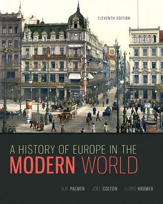 HISTORY OF EUROPE IN THE MODERN WORLD