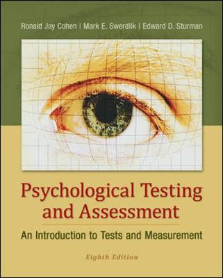 PSYCHOLOGICAL TESTING AND ASSESSMENT - A