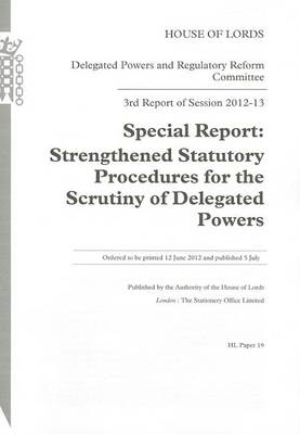 3RD REPORT OF SESSION 2012-13