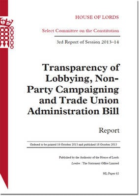 TRANSPARENCY OF LOBBYING, NON-PARTY CA 9