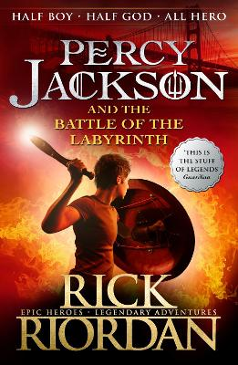 a8cb2dc41e Percy Jackson and the Battle of the Labyrinth (Book 4) Bk. 4 Percy Jackson  and the Battle of the Labyrinth (Book 4) - Riordan Rick