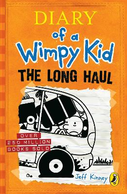 DIARY OF A WIMPY KID: THE LONG HAUL BOOK