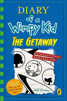 DIARY OF A WIMPY KID: THE GETAWAY (BOOK