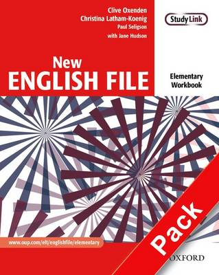 New English File Workbook with Key and MultiROM Pack Elementary level