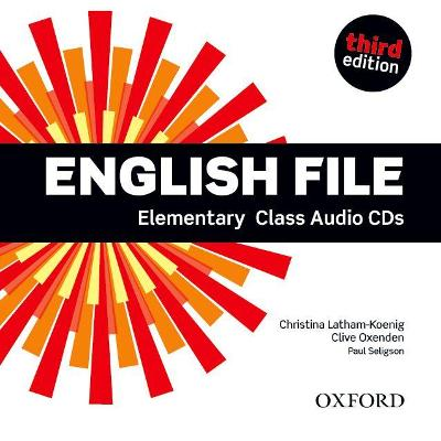 ENGLISH FILE 3RD ED ELEMENTARY CD CLASS