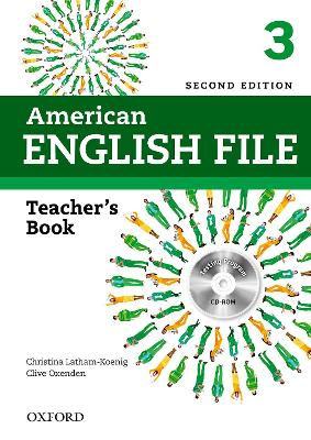 AMERICAN ENGLISH FILE 3 TCHRS+CDROM 2ED