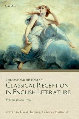 OXFORD HISTORY OF CLASSICAL RECEPTION IN