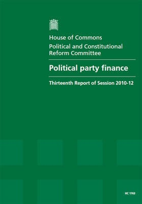 POLITICAL PARTY FINANCE