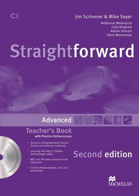 Straightforward Second Edition Teacher's Book Pack Advanced Level