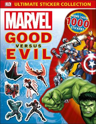 MARVEL GOOD VS EVIL ULTIM STICKER COL