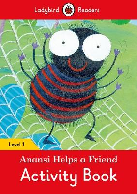 ANANSI HELPS A FRIEND ACTIVITY BOOK – LA