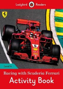 RACING WITH FERRARI ACTIVITY BOOK (LEVEL