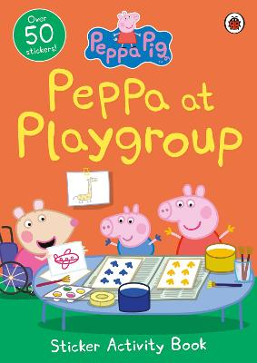 PEPPA PIG: PEPPA AT PLAYGROUP STICKER AC