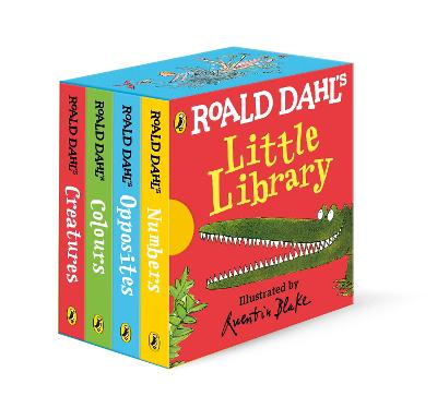 ROALD DAHLS LITTLE LIBRARY