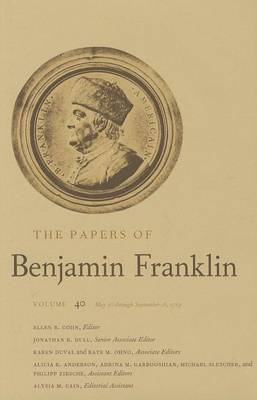PAPERS OF BENJAMIN FRANKLIN