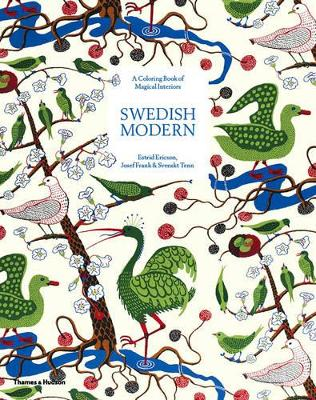 SWEDISH MODERN: A COLOURING BOOK OF MAGI
