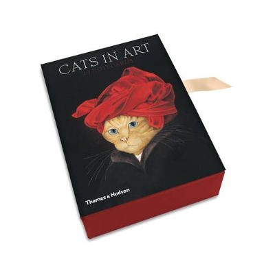 CATS IN ART: 20 NOTECARDS