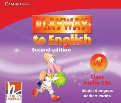 Playway to English Level 4 Class Audio CDs (3) Level 4