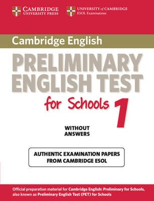 PET Practice Tests Level 1 Cambridge Preliminary English