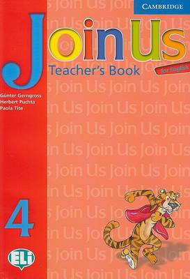 Join Us for English 4 Teacher's Book Level 4