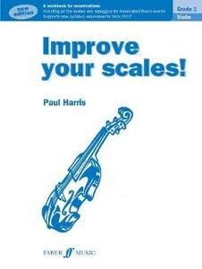 IMPROVE YOUR SCALES! VIOLIN GRADE 1