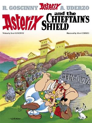 11. ASTERIX AND THE CHIEFTANS SHIELD