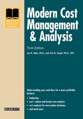 Modern Cost Management and Analysis