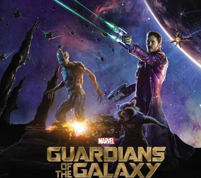 Marvel's Guardians of the Galaxy Art of the Movie Slipcase