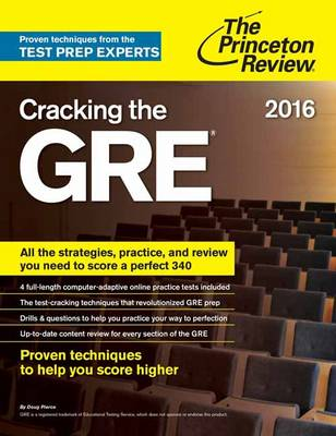 CRACKING THE GRE 2016 ED