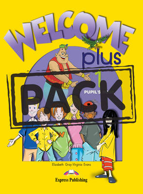WELCOME PLUS 1 SB PACK +ALPHABET+DVD