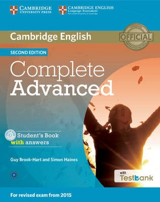 COMPLETE ADVANCED SB (+ CD-ROM)  W/A