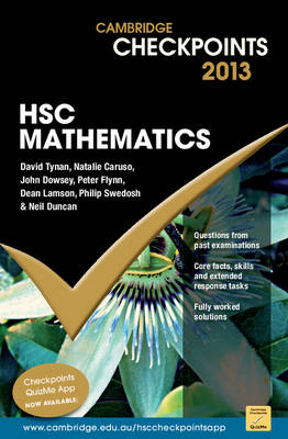 Cambridge Checkpoints HSC Mathematics 2013