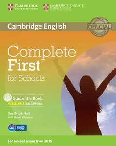 COMPLETE FCE FOR SCHOOLS SB (+ CD-ROM) A