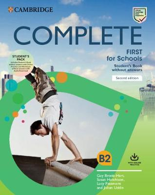 COMPLETE FIRST FOR SCHOOLS SB PACK (+ONL