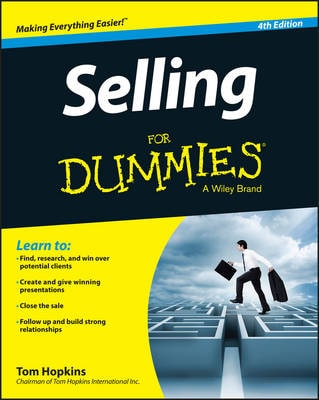 SELLING FOR DUMMIES, 4TH EDITION