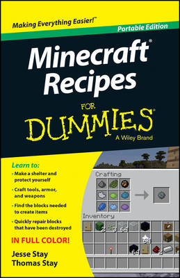 MINECRAFT RECIPES FOR DUMMIES, PORTABLE