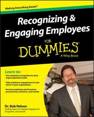 RECOGNIZING & ENGAGING EMPLOYEES DUMMIES