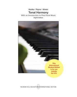 Bestseller: Tonal Harmony 7th Edition Workbook Answer Key Free