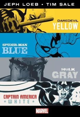 MARVEL KNIGHTS: YELLOW BLUE GRAY & WHITE