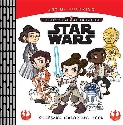 ART OF COLORING JOURNEY TO STAR WARS: LA