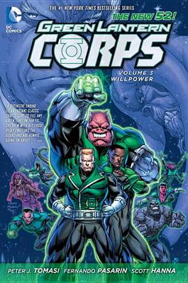 Green Lantern Corps (The New 52) Willpower Volume 3