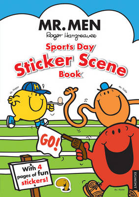 MR. MEN SPORTS DAY STICKER SCENE BOOK
