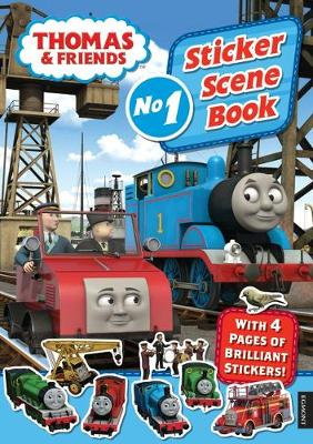 THOMAS & FRIENDS STICKER SCENE BOOK