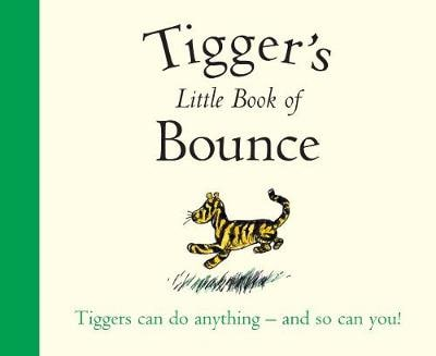 TIGGERS LITTLE BOOK OF BOUNCE