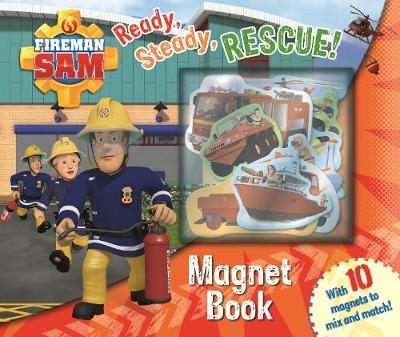 FIREMAN SAM MAGNET BOOK: READY, STEADY,